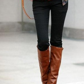 Зауженные брюки с чем носить