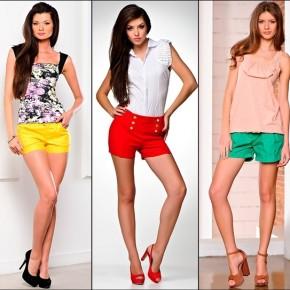 классические шорты с чем носить