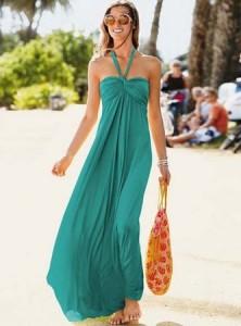 Длинный сарафан с чем носить
