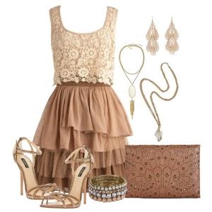 Что носить с платьем колокольчиком