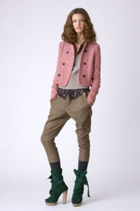 С чем носить брюки-галифе
