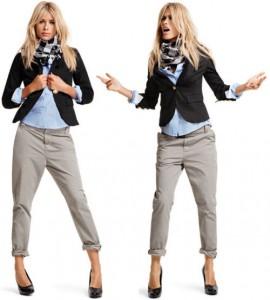 Короткие брюки с чем носить