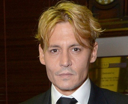 Джонни Депп стал блондином!