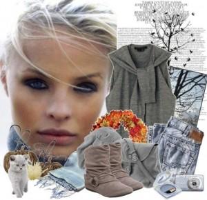 Модные осенние образы