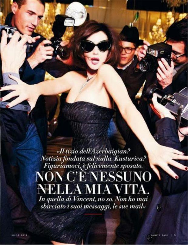 Моника Беллуччи разделась на модного журнала