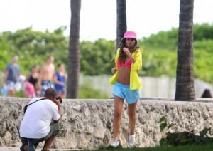 Alessia Ventura на фотосессии