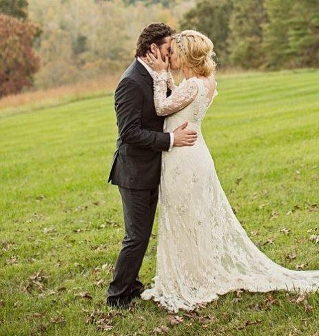Kelly Clarkson вышла замуж