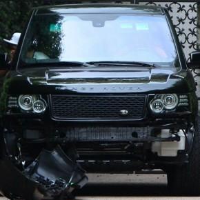 Дэвид Бекхэм попал в аварию!