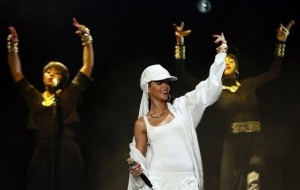 Rihanna выступила в Аравии