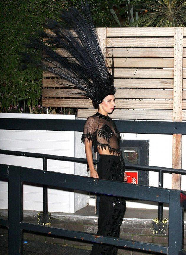 Lady Gaga в новом провокационном наряде