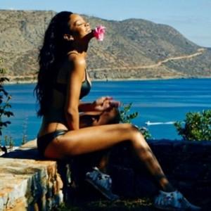 Рианна в Греции!