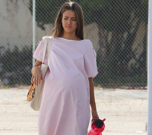 Джессика Альба беременна?