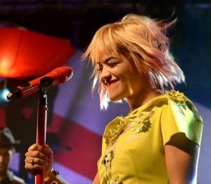 Rita Ora на концерте