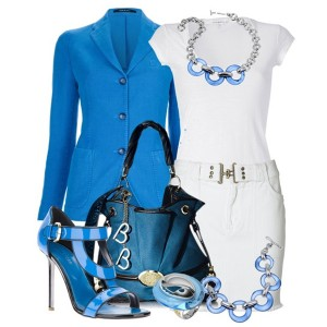 Белое платье с чем носить