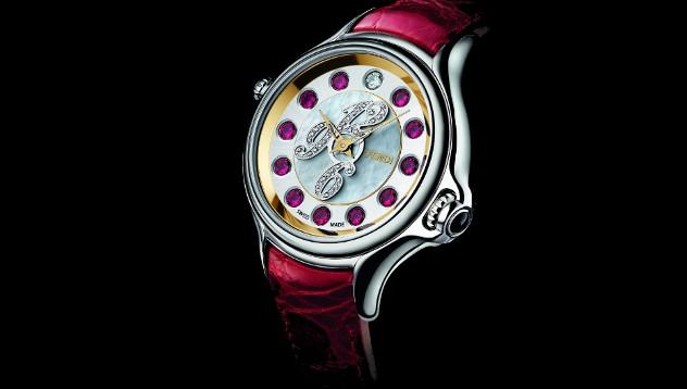 Дом моды Fendi запустил новую коллекцию часов