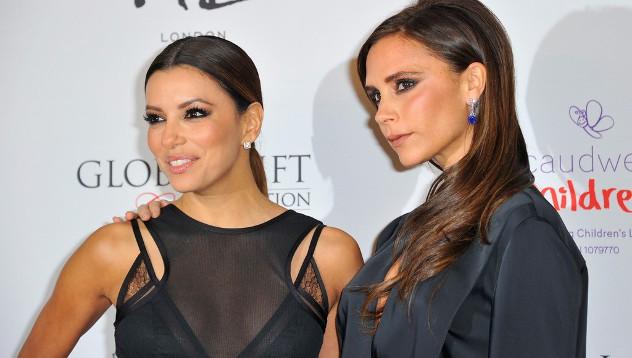 Ева и Виктория - стильные друзья!