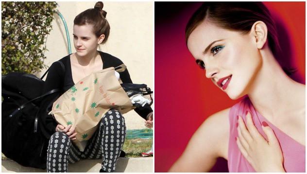 Какая Эмма Уотсон без макияжа?