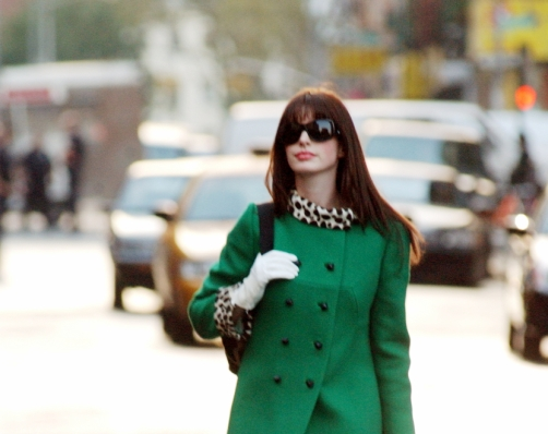 Зеленое пальто, с чем носить