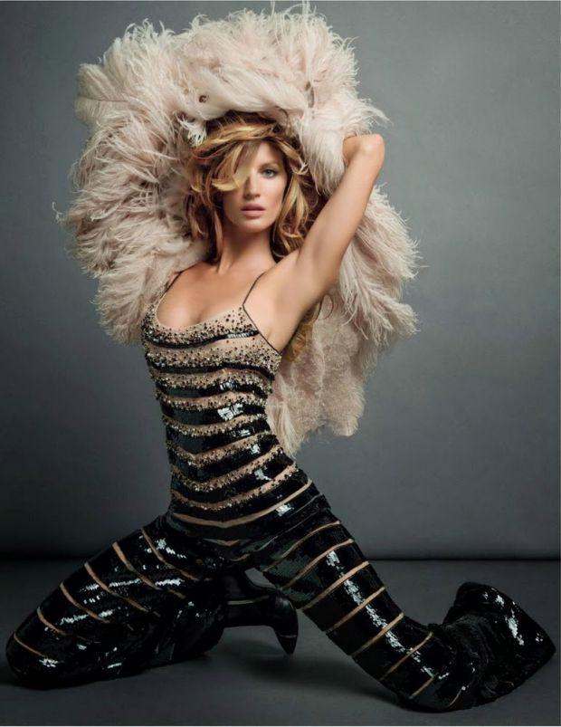 Жизель Бундхен на страницах Vogue Paris