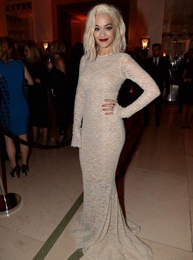 Rita Ora на красной ковровой дорожке