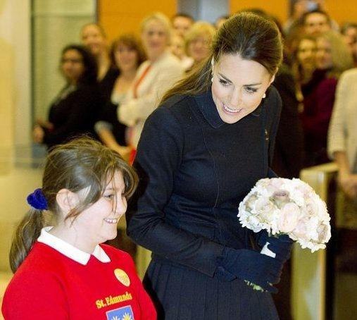 Герцогиня Кейт Миддлтон посетила благотворительное мероприятие