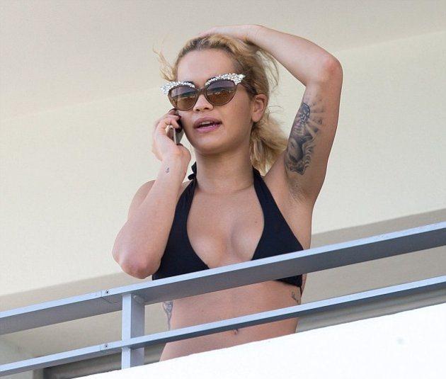 Rita Ora чувствует себя лучше