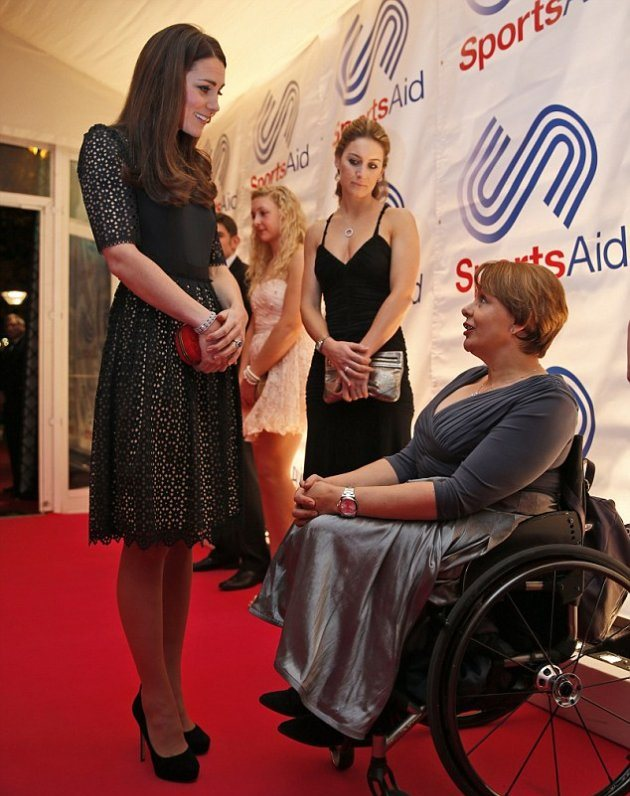 Герцогиня Кембриджская побывала на благотворительности в Центральном Лондоне
