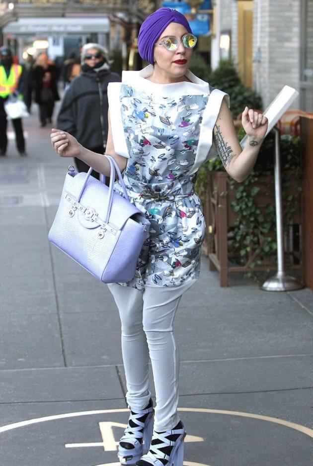 """Lady Gaga снова показала всем свой """"вкус и стиль"""""""