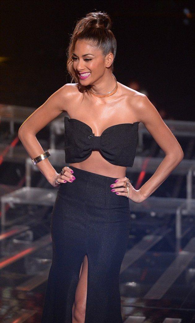 В каком платье появилась Николь на концерте X Factor в субботу?