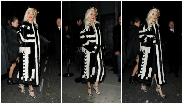Во что была одета Рита Ора на British Fashion Awards?