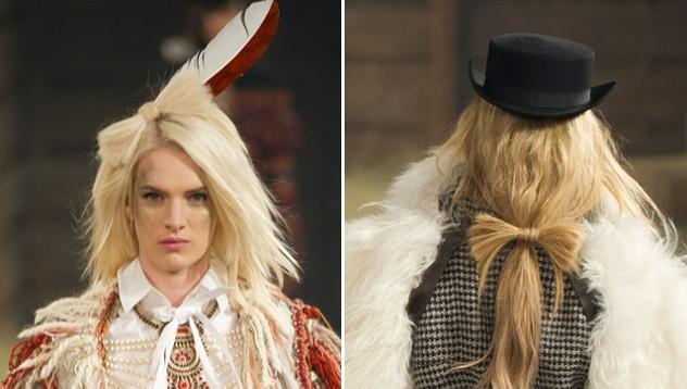 Модный показ Chanel в ковбойском стиле