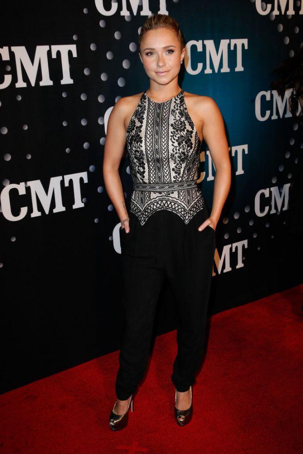 Хайден Панеттьери на вручении наград CMT артист года
