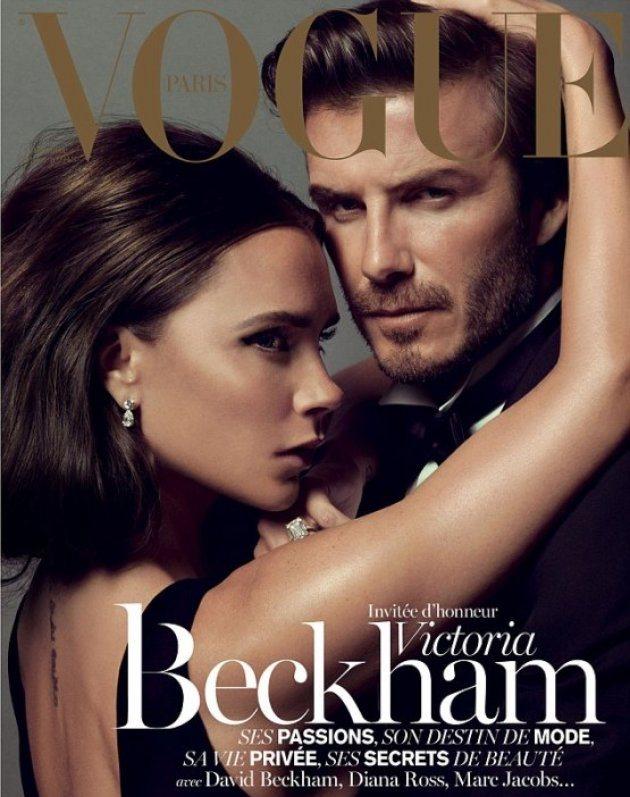 Виктория и Дэвид на обложке нового журнала