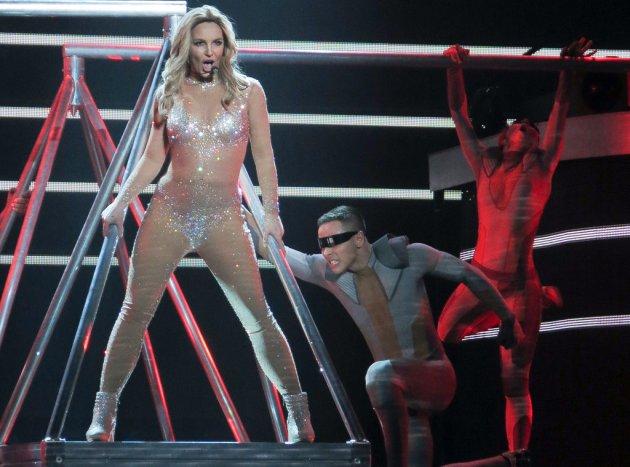 В Лас-Вегасе прошел концерт Бритни Спирс