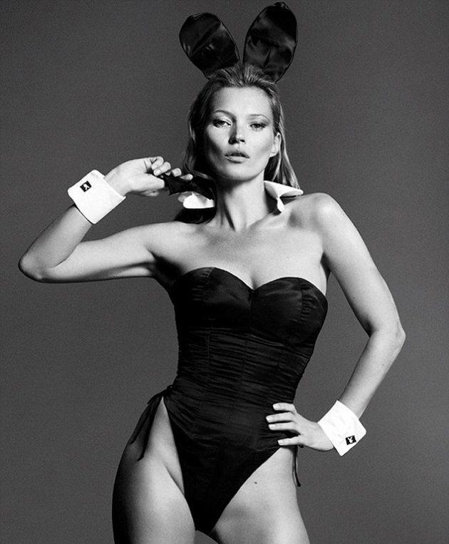 Кейт Мосс разделась топлесс для Playboy