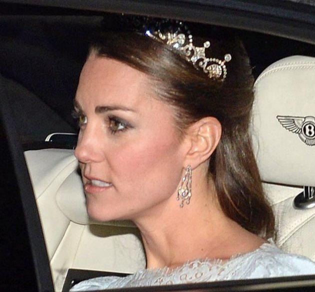 Какие украшения перешли от королевы Герцогини Кембриджской после замужества?