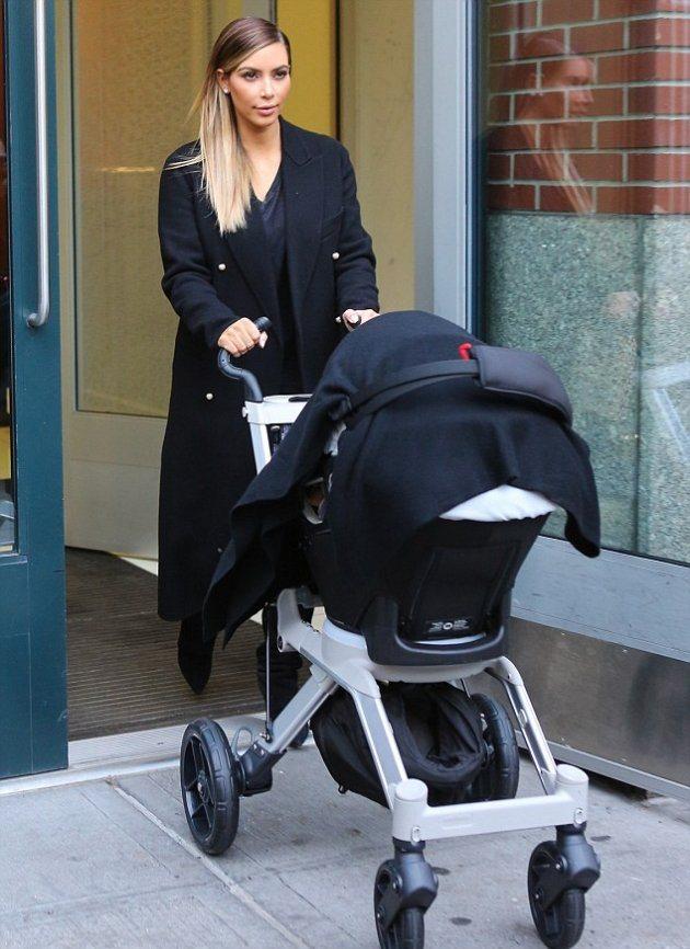 Ким возвращается к роли мамы