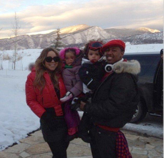 Mariah Carey ждет праздников