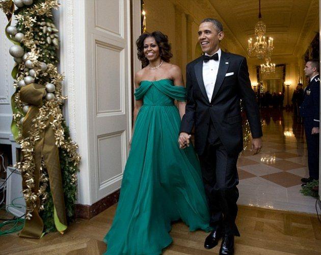 Во что была одета Мишель Обама в воскресенье?