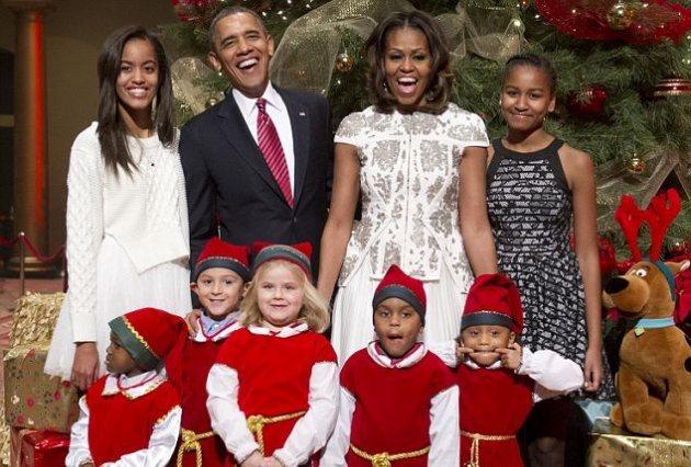 Мишель Обама побывала на благотворительном концерте