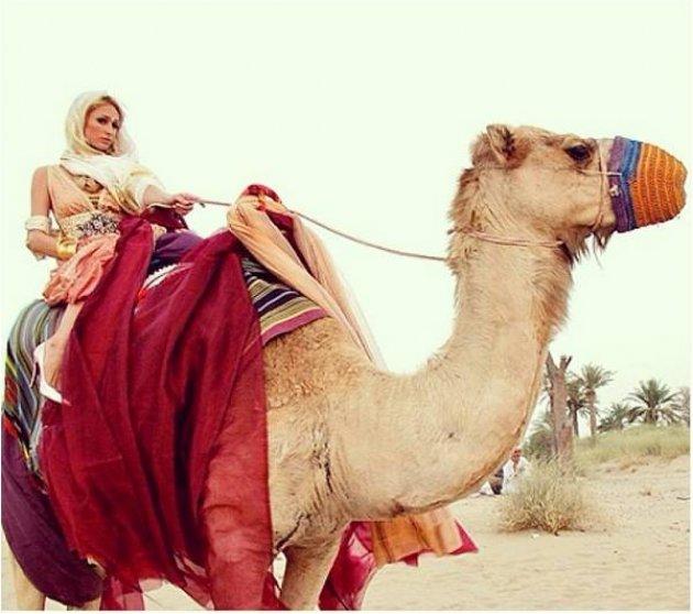 Paris Hilton совершила поездку в Дубай