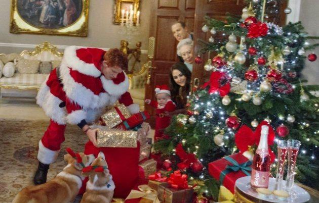 Принц Джордж празднует свое первое Рождество