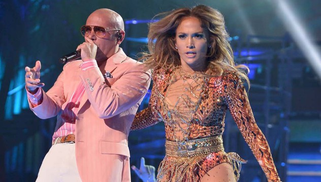 Стало известно, что Дженнифер Лопес будет исполнять национальный гимн на чемпионате мира в Бразилии с американским рэппером Pitbull и Клаудиа Лейте