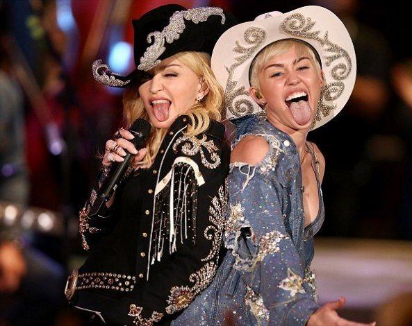 Мадонна будет сотрудничать с Майли Сайрус