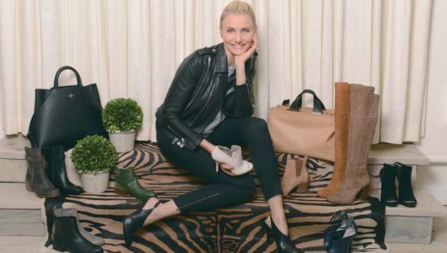 Кэмерон Диаз выпустила собственную коллекцию обуви