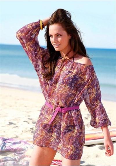 С чем носить модную шифоновую блузку?