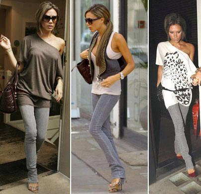 С чем носить джинсы-скинни?