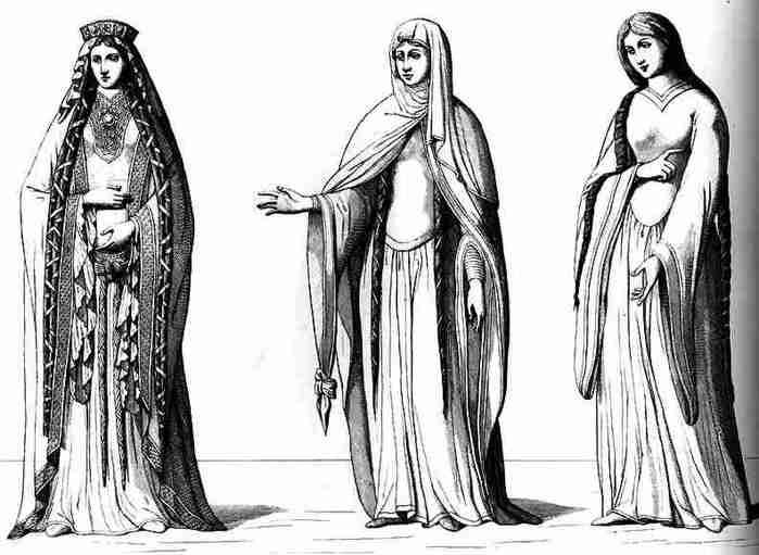 Многослойность в эпоху Средневековья