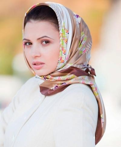 Как носить платок на голове?
