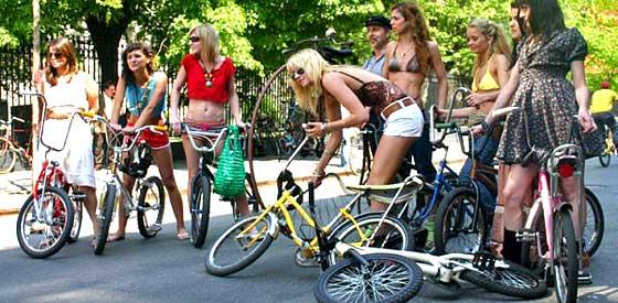 Как выбрать велосипед по росту?